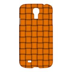 Orange Weave Samsung Galaxy S4 I9500 Hardshell Case