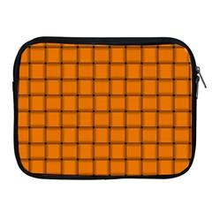 Orange Weave Apple iPad 2/3/4 Zipper Case