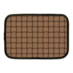 Cafe Au Lait Weave Netbook Case (medium)