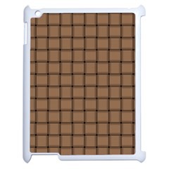 Cafe Au Lait Weave Apple Ipad 2 Case (white)