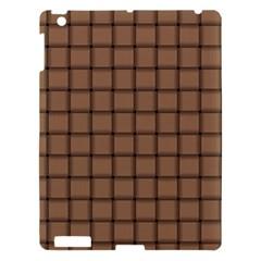 Cafe Au Lait Weave Apple Ipad 3/4 Hardshell Case