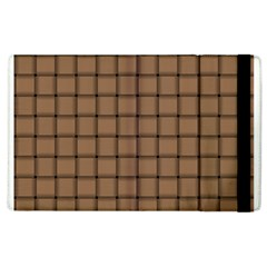 Cafe Au Lait Weave Apple iPad 3/4 Flip Case
