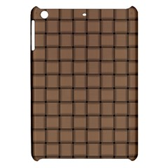 Cafe Au Lait Weave Apple Ipad Mini Hardshell Case