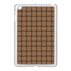 Cafe Au Lait Weave Apple Ipad Mini Case (white)