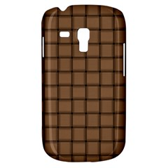 Cafe Au Lait Weave Samsung Galaxy S3 MINI I8190 Hardshell Case