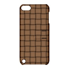 Cafe Au Lait Weave Apple Ipod Touch 5 Hardshell Case With Stand