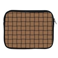 Cafe Au Lait Weave Apple iPad 2/3/4 Zipper Case