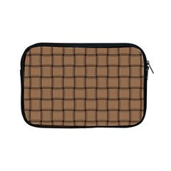 Cafe Au Lait Weave Apple iPad Mini Zipper Case