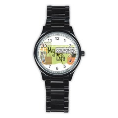 Coupon03 Sport Metal Watch (black)