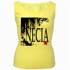 Logo Womens  Tank Top (Yellow)