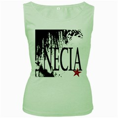 Logo Womens  Tank Top (green)