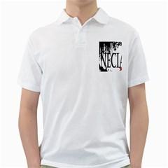 Logo Mens  Polo Shirt (white)