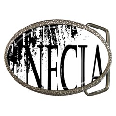 Logo Belt Buckle (Oval)
