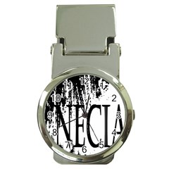 Logo Money Clip With Watch