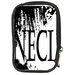 Logo Compact Camera Leather Case