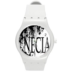 Logo Plastic Sport Watch (Medium)
