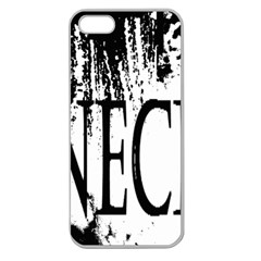 Logo Apple Seamless Iphone 5 Case (clear)