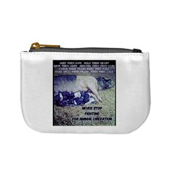 Animal Liberation Coin Change Purse
