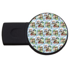 Alice In Wonderland 1GB USB Flash Drive (Round)