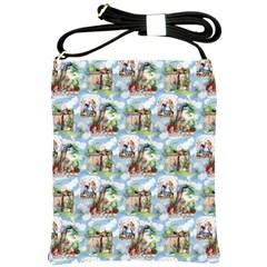 Alice In Wonderland Shoulder Sling Bag