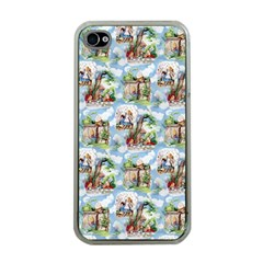 Alice In Wonderland Apple iPhone 4 Case (Clear)