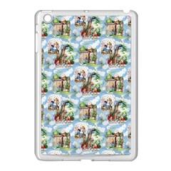 Alice In Wonderland Apple iPad Mini Case (White)