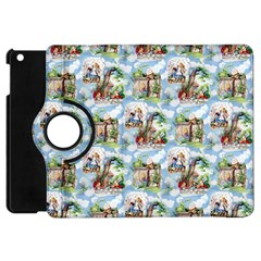 Alice In Wonderland Apple iPad Mini Flip 360 Case