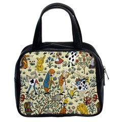 Alice In Wonderland Classic Handbag (Two Sides)