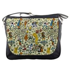 Alice In Wonderland Messenger Bag