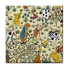 Alice In Wonderland Ceramic Tile
