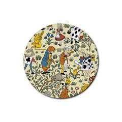 Alice In Wonderland Drink Coaster (Round)