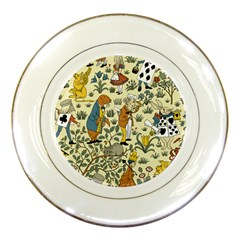 Alice In Wonderland Porcelain Display Plate