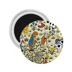 Alice In Wonderland 2.25  Button Magnet