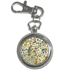 Alice In Wonderland Key Chain & Watch