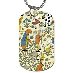 Alice In Wonderland Dog Tag (One Sided)