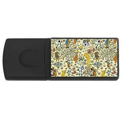 Alice In Wonderland 4GB USB Flash Drive (Rectangle)