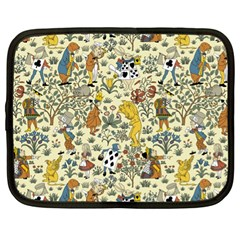 Alice In Wonderland Netbook Case (XL)