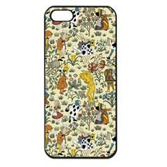 Alice In Wonderland Apple iPhone 5 Seamless Case (Black)