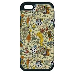 Alice In Wonderland Apple iPhone 5 Hardshell Case (PC+Silicone)
