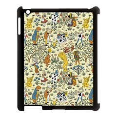 Alice In Wonderland Apple iPad 3/4 Case (Black)