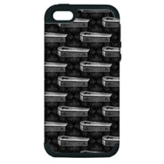 Coffin Apple iPhone 5 Hardshell Case (PC+Silicone)