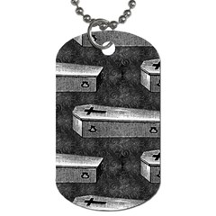 Coffin Dog Tag (One Sided)