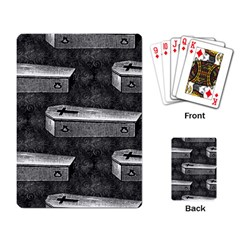 Coffin Playing Cards Single Design