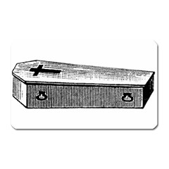 Coffin Magnet (Rectangular)