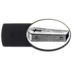 Coffin 2GB USB Flash Drive (Oval)