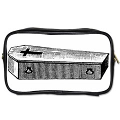 Coffin Travel Toiletry Bag (Two Sides)