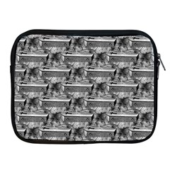Coffin Apple iPad 2/3/4 Zipper Case