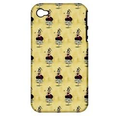 Female Eye Apple iPhone 4/4S Hardshell Case (PC+Silicone)