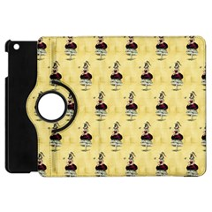 Female Eye Apple iPad Mini Flip 360 Case