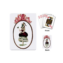 Female Eye Playing Cards (Mini)